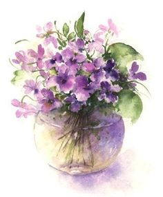 Watercolor by Rose Eddington
