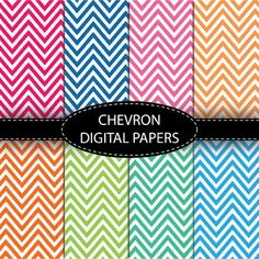 Bright Chevron Papers for backgrounds, bulletins, wallpapers and more. 25 Images…