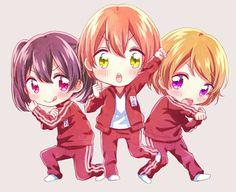 Nico, Rin and Hanayo ~