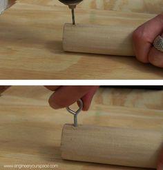 Hometalk :: Easy DIY Hanging Closet Rod