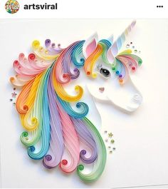 Quilled Unicorn