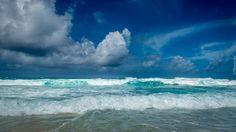 Morze, Chmury, Fale