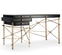 thesuperserious: Les French Desk 2012 By Glithero @ Fumi Colorful Furniture, New Furniture, Table Furniture, Contemporary Furniture, Contemporary Design, Furniture Design, Table Desk, Luxury Furniture, Modern Art