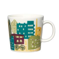 Howntown mug by Iittala for my hometown Helsinki