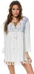 BILLABONG WITHOUT LOOKING PONCHO DRESS > Women's Styles > Dresses > Boho Dresses | Swell.com