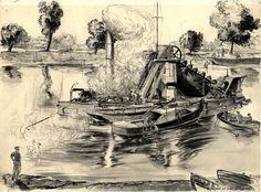 griffen-dredger-at-work-on-thames-1938-b2073.jpg (1024×755)