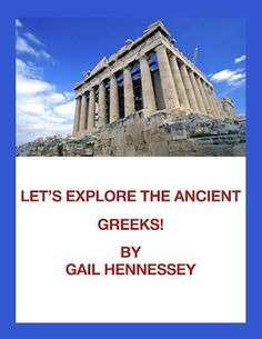 Covering the Ancient Greeks? This unit on Ancient Greece includes notes, lots of activities and resources I used with my students. Did you know that the ancient Greeks played with a yo-yo about 3000 years ago or that in the city of Athens, ancient Greeks sold snow cones that were mixed with honey and fruit?Check out my Let's Explore the Ancient Greeks: http://www.teacherspayteachers.com/Product/Ancient-Greeks-Lets-Explore-the-GreeksUnit-358283 $3.50