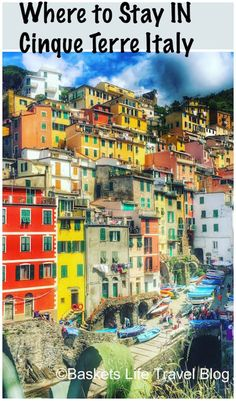 Where to Stay in Cinque Terre Italy