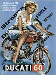 Image result for old ducati ads