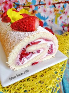 Ricotta, Latte, Raspberry, Swiss Rolls, Food And Drink, Sweets, Fruit, Dolce, Desserts
