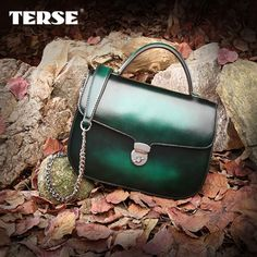 TERSE Italian calfskin genunie leather crossbody shoulder bag for women mini bag with drop shipment