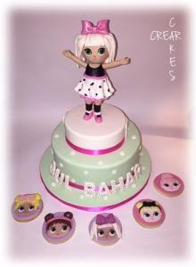 Torta di compleanno creata da Crearcakes