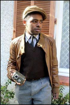 40's leather jacket
