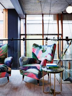 Perhaps it's time to add some colorful flair to your chair game. These hand-painted hotel vibes are courtesy of the Alex Hotel in Perth, Australia, where artistic touches create an inspiring...