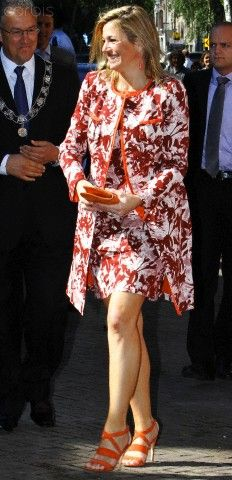 ♥•✿•QueenMaxima•✿•♥...22 juni 2010... Queen Maxima of The Netherlands