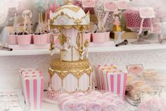 vintage-carousel-carnival-birthday-party