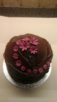 30th chocolate cake