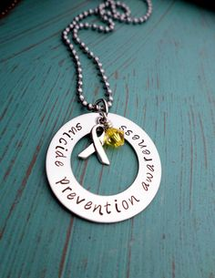 Suicide Prevention Awareness Suicide by HandmadeLoveStories, $25.00