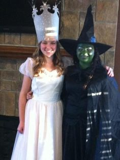 Halloween costumes for two girls! :)