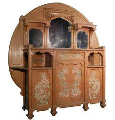 Cabinet Art Nouveau, Epoque 1900