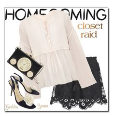"""""""HOMECOMING"""" by shoaleh-nia ❤ liked on Polyvore featuring Chloé and Kate Spade"""