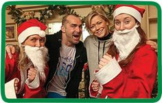 Our News - Children's Hospice South West | Dancing star Louie Spence and former pop star Suzanne Shaw are supporting this year's Santas on the Run event, held in aid of Wraxall-based charity Children's Hospice South West. #chsw #santas #christmas #louiespence