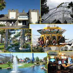 """Scandia Amusements is a chain of Scandinavian-themed family amusement centers in California, including three locations: Scandia Fun Center in Sacramento, Scandia Family Fun Center in Victorville, and Scandia Amusement Park in Ontario. All three locations are located adjacent to a major freeway, and include attractions such as an arcade, """"Baltic Sea Bumper Boats"""", batting cages, miniature golf,and """"Stockholm Raceway"""". #rollercoaster #rollercoasters #Scandiaamusementpark #California"""