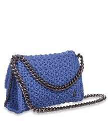 ONE & ONLY Blue Obsession Link Crochet Bag < ΤΣΑΝΤΕΣ ΩΜΟΥ