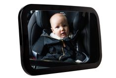 Baby Car Mirror for Back Seat - Best Wide Headrest Mirror for Newborn Safety, Clear Reflection & Shatterproof, Easy Installation and Adjustable Baby Car Mirror, Back Seat, Our Baby, Baby Car Seats, Eco Friendly, Reflection, Abs, Angel, Children