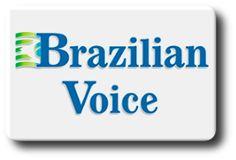 Logo do jornal Brazilian Voice
