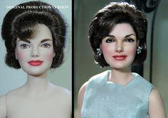 ¡Impresionante! Un artista repinta muñecos de personajes famosos para hacerlos más realistas (+fotos)