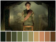 """Color palette from """"The Ballad of Buster Scruggs"""" – Movie Posters Movie Color Palette, Colour Pallette, Color Harmony, Color Balance, Light Cinema, Pantone, Color In Film, Cinema Colours, Color Script"""