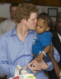 Love Prince Harry. Diana would be so very proud of her Harry.....