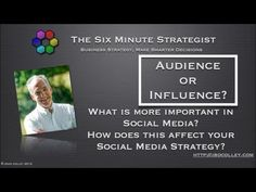 Influence or Audience? What is more important in Social Media?