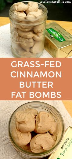 Cinnamon butter bites: An easy and delicious way to add more healthy grass-fed butter to your diet! Primal, GAPS, gluten-free, honey- or stevia-sweetened.