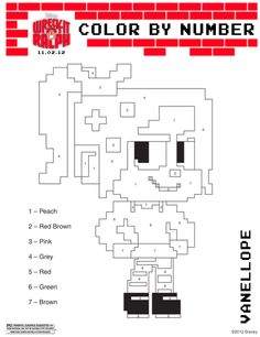 Wreck It Ralph Coloring Pages  photo