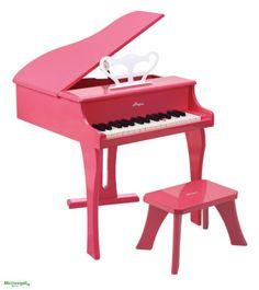 PIANOFORTE-ALLEGRO-ROSA-in-Legno-cm-50x52x60-per-bambini-Eta-3A-Hape