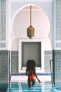 This Moroccan Luxury Hotel Has The Best Spa Services We've Seen Vacation Places, Dream Vacations, Vacation Trips, Vacation Spots, Beautiful Places To Travel, Cool Places To Visit, Places To Go, Mamounia Marrakech, Marrakesh