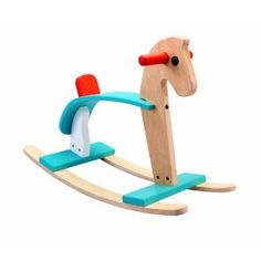 Don't you think Gracie needs this horsie? Of course she does. And I love the turquoise and red.
