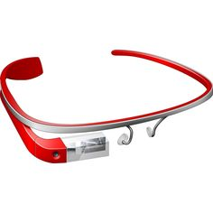 Red Google Glass Icon want it badly, i should have it.....