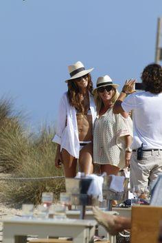 #Bikini, #IzabelGoulart Izabel Goulart in a Stripy Bikini - Ibiza, Spain June 2017   Celebrity Uncensored! Read more: http://celxxx.com/2017/06/izabel-goulart-in-a-stripy-bikini-ibiza-spain-june-2017/