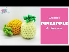 Enjoy the pineapple amigurumi tutorial. This crochet fruit will add a fun and education toys to your babies or it will be a wonderful gift fo. Crochet Fruit, Pineapple Crochet, Crochet Food, Crochet Flowers, Free Crochet, Amigurumi Tutorial, Crochet Patterns Amigurumi, Kawaii Crochet, Crochet Toddler