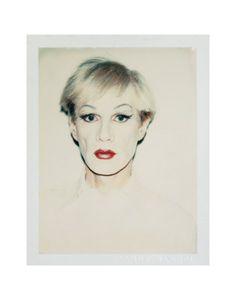 Self-Portrait in Drag c.1981 (short hair)