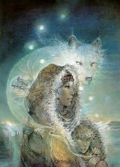 (by Susan Sedon Boulet) She translated the spiritual roots of First Peoples into works that helped us understand each other.  Carol