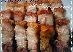 Pork Recipes, Seafood Recipes, Indian Food Recipes, Asian Recipes, Cooking Recipes, Chinese Seafood Recipe, Chinese Food, Crispy Pork, Indonesian Food