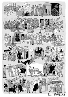 This Artist Summarizes Each Harry Potter Book Into A Poster. The Result Is Amazing!Harry Potter and the Deathly Hallows Part II Harry Potter Parody, Arte Do Harry Potter, Harry Potter Comics, Harry Potter Drawings, Harry Potter Love, Harry Potter Universal, Harry Potter World, Harry Potter Ilustraciones, Hogwarts