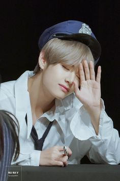My handsome police officer please arrest me😂😍😍 Bts Taehyung, Jimin, V E Jhope, Bts Selca, Bts Bangtan Boy, Taehyung Fanart, Daegu, Billboard Music Awards, Btob