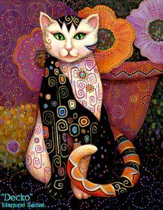 """Marjorie Sarnat's Kleo Kats """"Decko"""""""