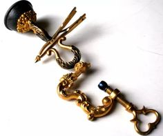 Antique Exquisite French Ormulu Sewing Bird Clamp c.1850
