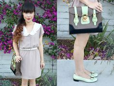 Avocado Accent Color (by Toshiko S.) http://lookbook.nu/look/3591567-Avocado-Accent-Color